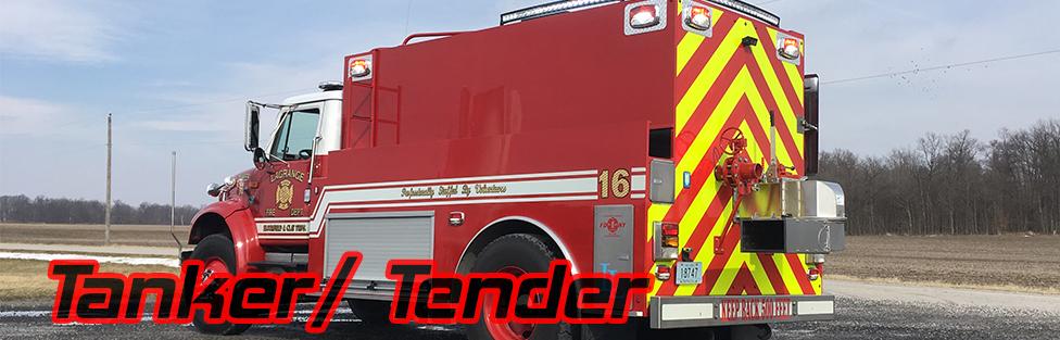 Lagrange Fire Department Tanker