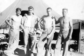 Harold Rucker, Howard Cooper, Joe Coyle, Carl Cooper