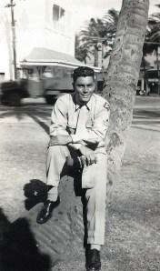 """Ben Ross """"Bernie"""" Flores of Gonzales, Texas."""