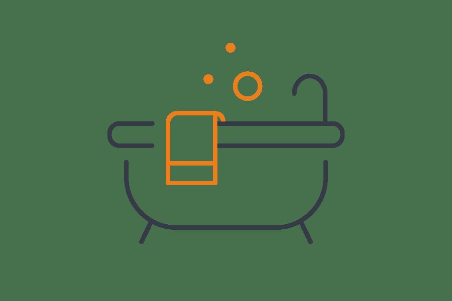 1st call heating & drainage - Bathroom installation icon