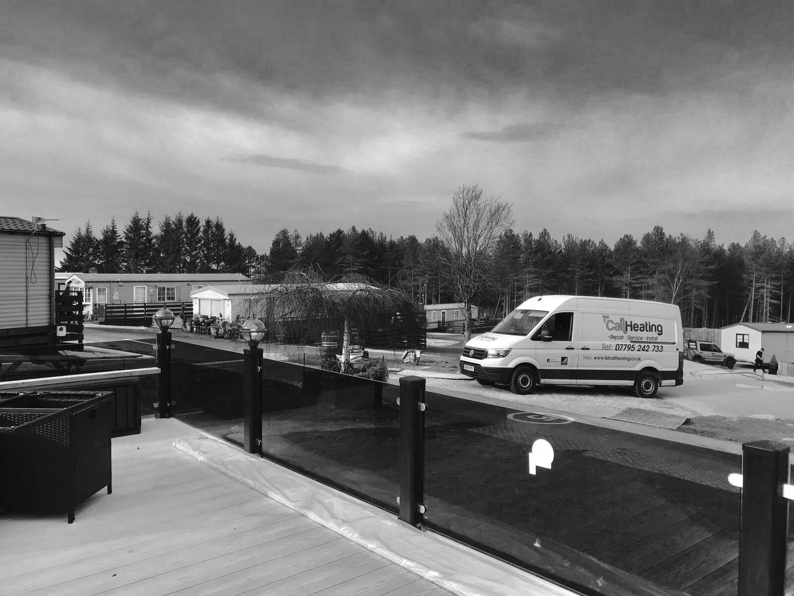 1st call heating & drainage - Van on caravan site
