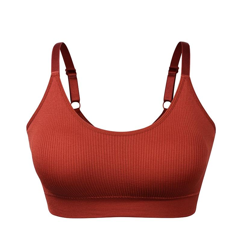 Seamless Sports Bra,Women Push Up Sport Top for fitness,Shockproof Running Yoga Bra,Women Gym Workout Bra, U Back Sport Bra Vest