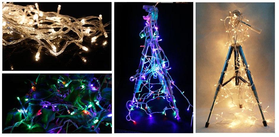 10M 100 LEDs String Lights Street Garland AC 220V 110V Outdoor Lighting Garden String Lights Christmas Decorations for Home Led