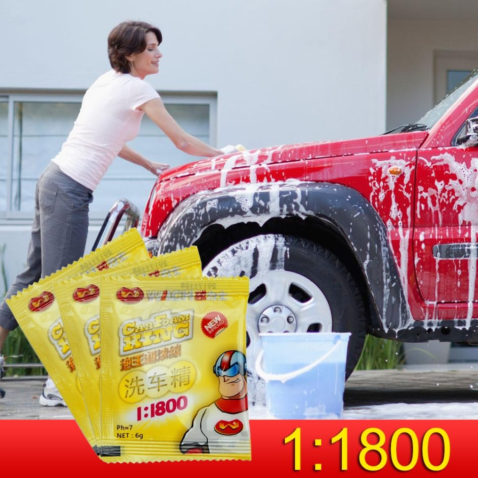 1:1800 Car Concentrated Washing Powder Car Automobiles Cleaning Tools Window Wildshield Wash Cleaning Car Accessries TSLM1