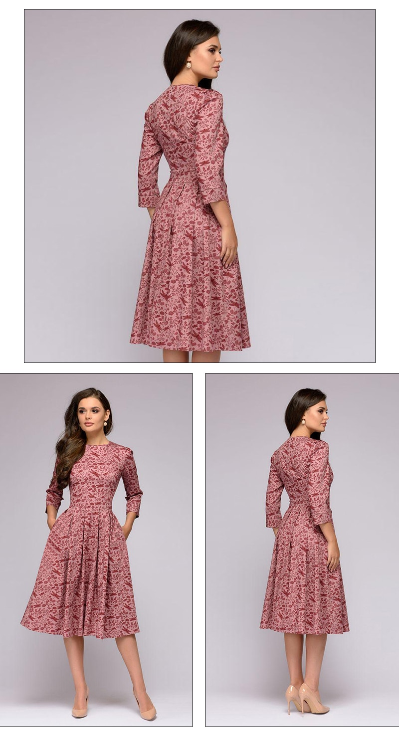 Women's Elegant A-Line Dress