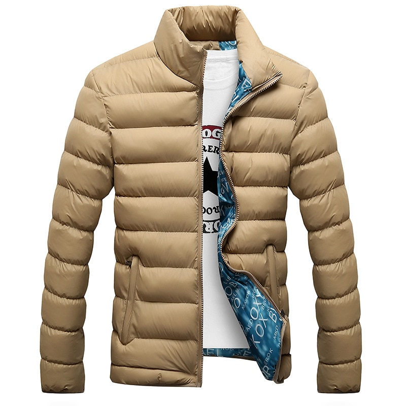 Fashion Winter Thickened Men's Jacket