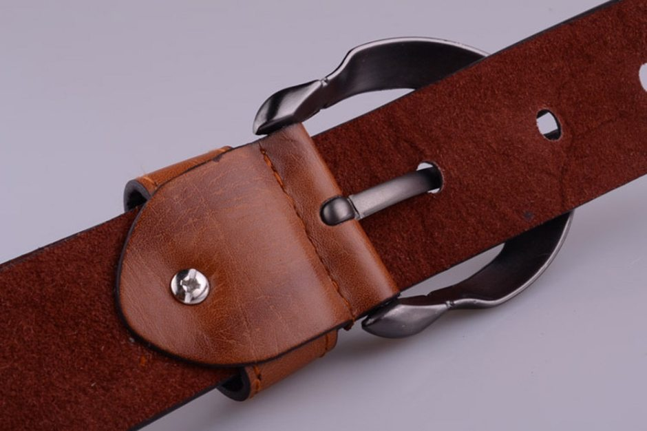 Men's Belt Leather Belt Men Male Genuine Leather Strap Luxury Pin Buckle Fancy Vintage jeans cintos masculinos мужской ремень