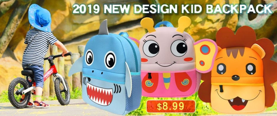 2020 3D Cartoon Plush Children Backpacks kindergarten Schoolbag Animal Kids Backpack Children School Bags Girls Boys Backpacks
