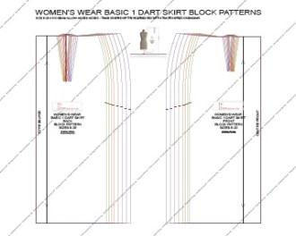Pattern making blocks as PDF downloads - 1st Class Patterns