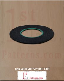 adhesive styling tape