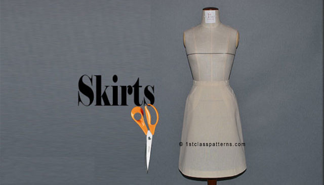 pattern cutting beginners skirts