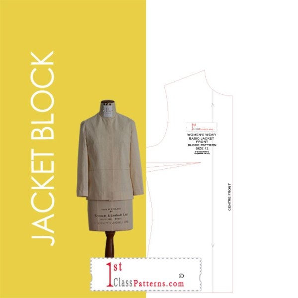 Digital jacket block pattern