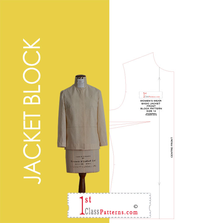 jacket digital block pattern
