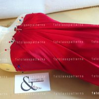 STANDS-3-red-stretch-satin-draped-dress