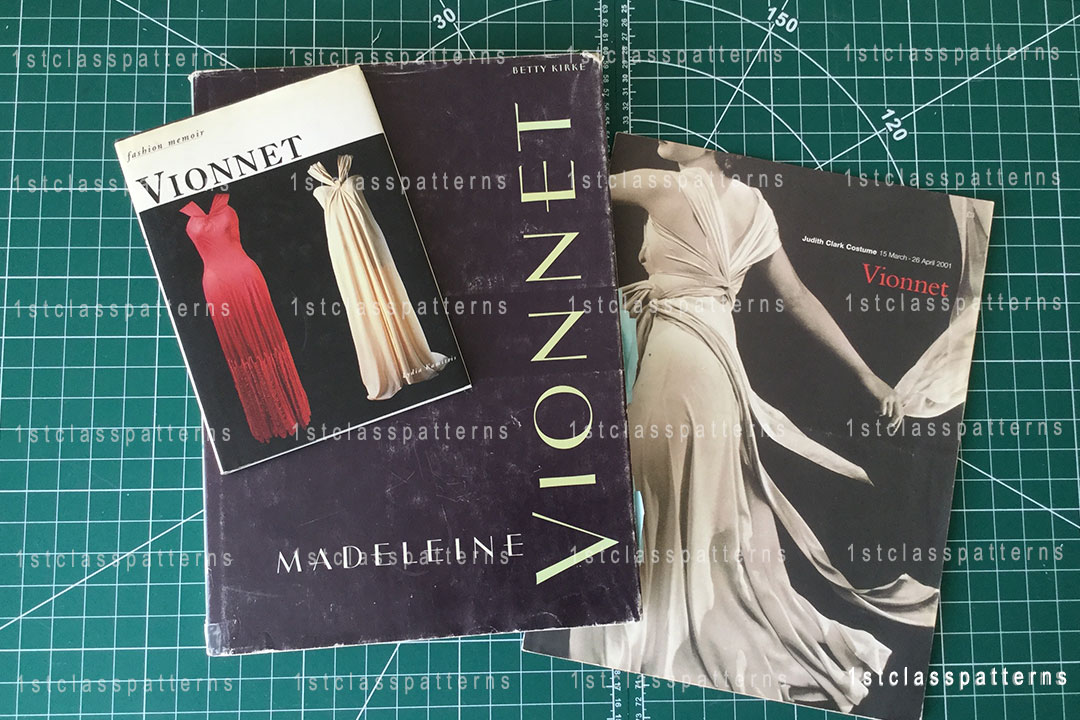 Madeleine Vionnet who became one of the leading designers in Paris