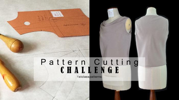 Create your wardrobe pattern cutting challenge