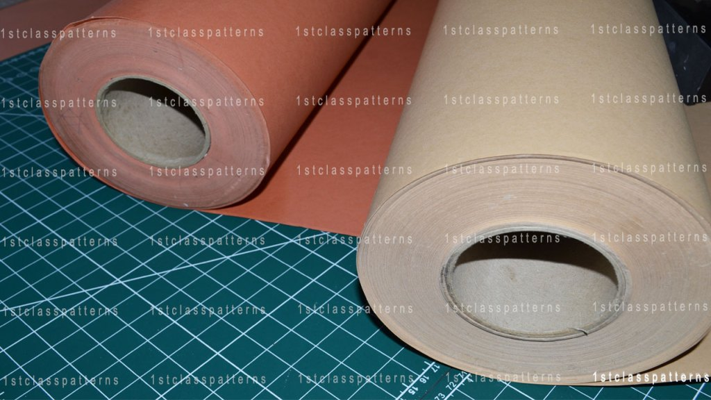 manilla card for pattern cutting