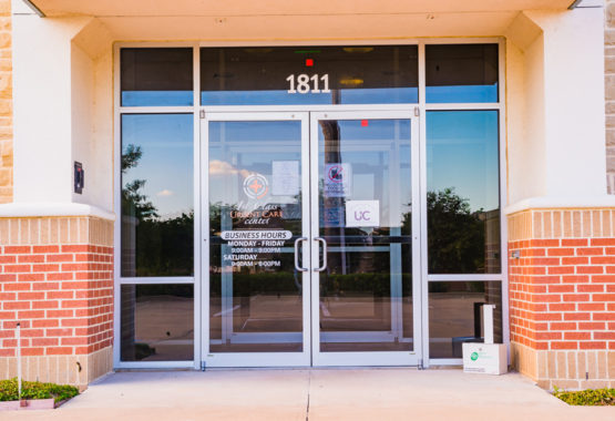 1stclass Urgent Care Allen Office Front Door