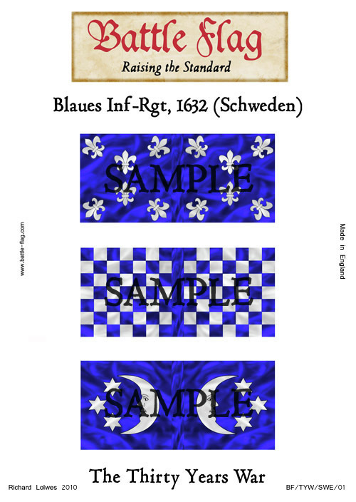 TYW/SWE/01 Blaues Inf-Rgt
