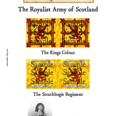 The Kings Colour, The Strathbogie Regt