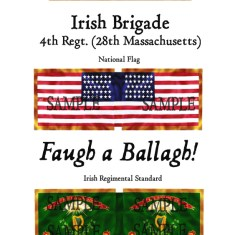 ACW/UN/003 Irish Brigade. 4th Regiment