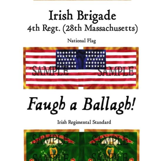 ACW/UN/003 Irish Brigade. 4th Regiment