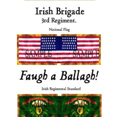 ACW/UN/002 Irish Brigade. 3rd Regiment