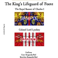 ECWROY001 The Royal Banner of Charles I, The Kings Lifeguard