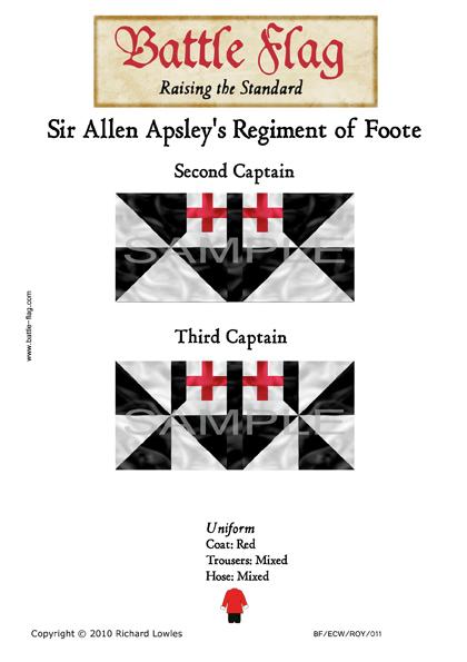 ECWROY011 ?Sir Allen Apsley's Regiment of Foote