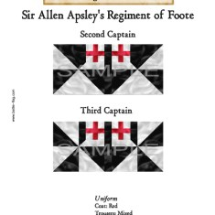 ECWROY011 ?Sir Allen Apsley's Regiment of Foote