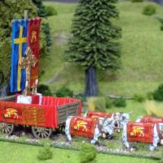 Religious Waggon Transfer set Venice