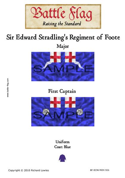 ECWROY006 (B) Sir Edward Stradling's Regiment of Foote