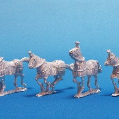 28mm Macedonian Successor Barded Horses