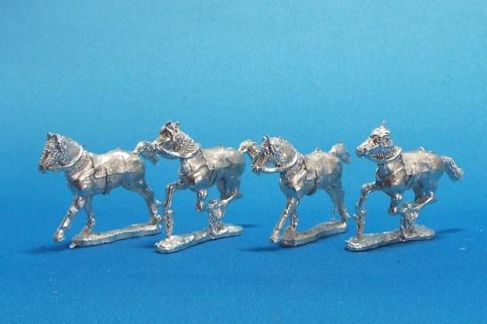 28mm spanish horses