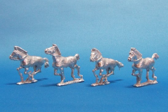 28mm Greek cavalry horse