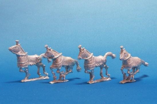 28mm Successor Half Barded Horses