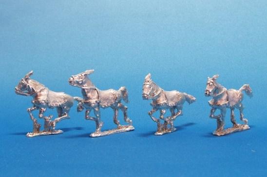 28mm Antigonid Successor Horses