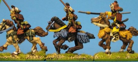 Samurai horses