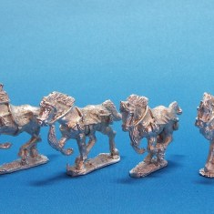 28mm Asiatic Pecheneg horses