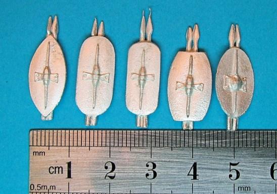 Spanish shields with javelins