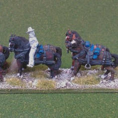 Limber and horse team (slouch mounted)
