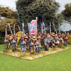 28mm american civil war marching slouch hats