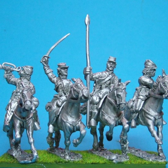 Cavalry command, kepi.