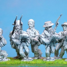 28mm louisiana Tiger Zouaves.