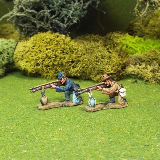 28mm American civil war snipers