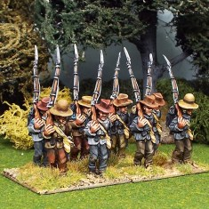 28mm american civil war infantry marching wearing slouch hats