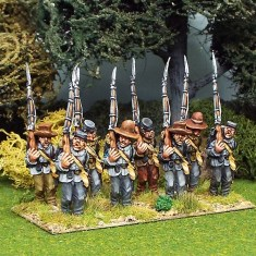 28mm american civil war infantry marching wearing mixed headgear
