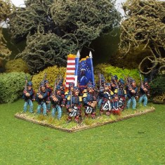 28mm 79th Highland infantry including command .