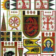 ARTHURIAN BANNERS 2