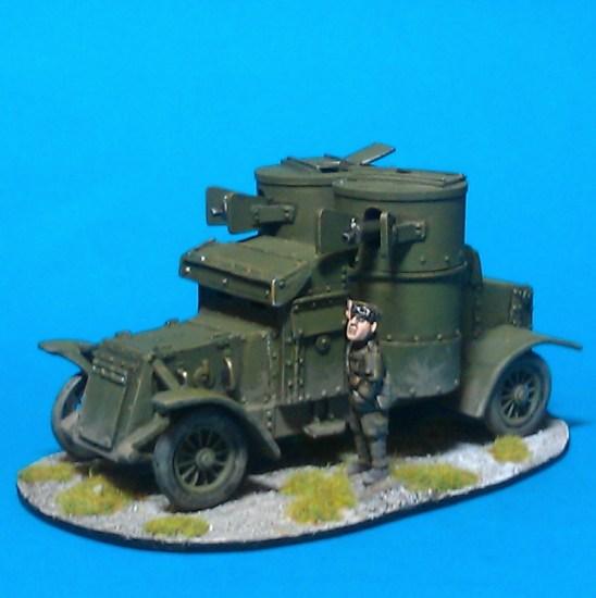 1/48 28mm ww1 Austin Armoured Car V2